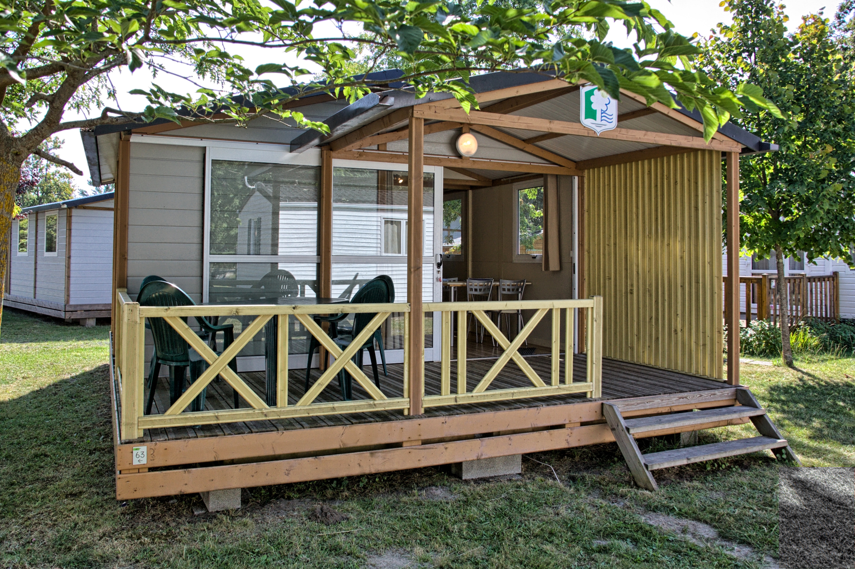 Location Chalet -Gironde -camping Médoc