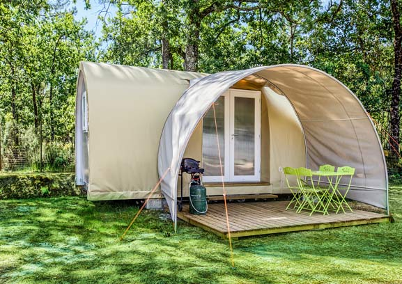 Location tente camping Gironde