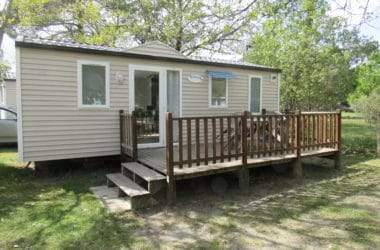 Mobil home 2 chambres - camping familial - Gironde