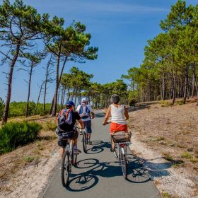 Camping Médoc Pistes cyclables