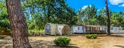 camping location mobil-home hourtin
